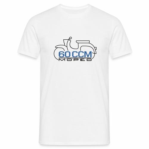 Moped Schwalbe 60 ccm Emblem - Men's T-Shirt