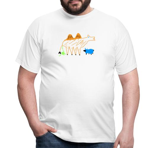 T-Shirt - The Carmel and the blue sheep - Männer T-Shirt