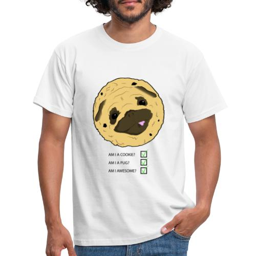 Pug Cookie - Mannen T-shirt