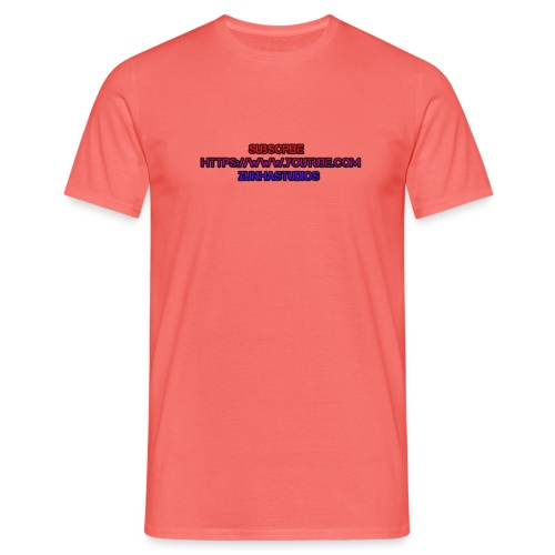 SUBSCRBE - Herre-T-shirt