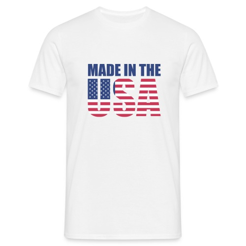 Made in USA - T-shirt herr