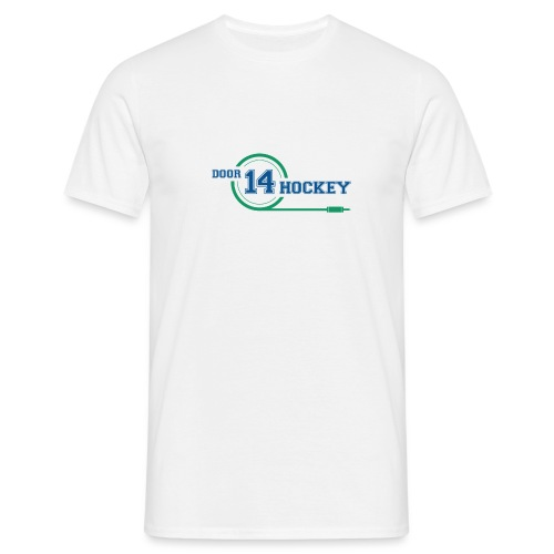 D14 HOCKEY LOGO - Men's T-Shirt
