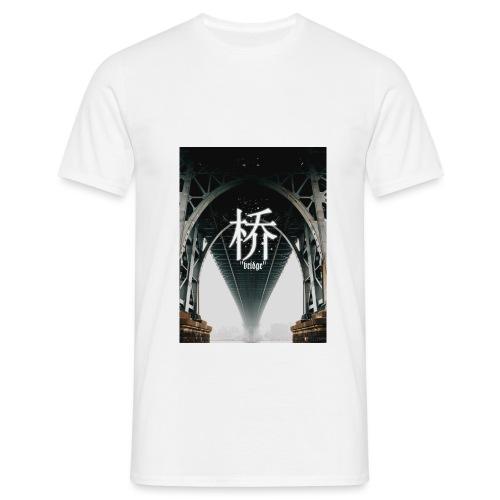 Kalasho Bridge Print T-Shirt - Männer T-Shirt