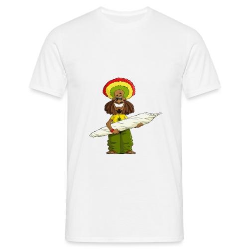 rasta png - Koszulka męska