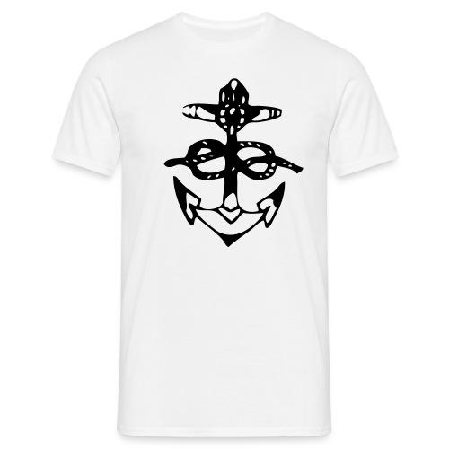 ankare - T-shirt herr