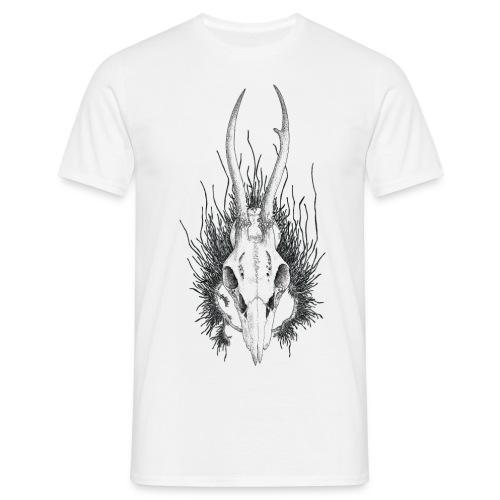 Schädelstruktur - Männer T-Shirt
