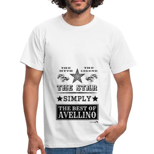 1,03 The Star Legend Avellino - Maglietta da uomo