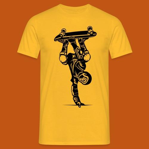 Skater / Skateboarder 02_schwarz - Männer T-Shirt
