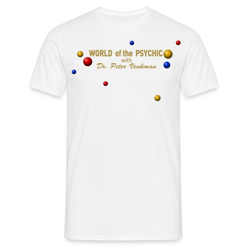 world of the psychic ai - Men's T-Shirt