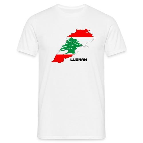 libanon landkarte - Männer T-Shirt