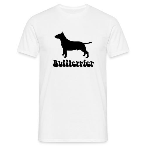 Bullterrier Logo - Männer T-Shirt