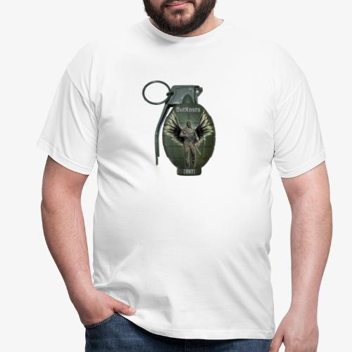 grenadearma3 png - Men's T-Shirt