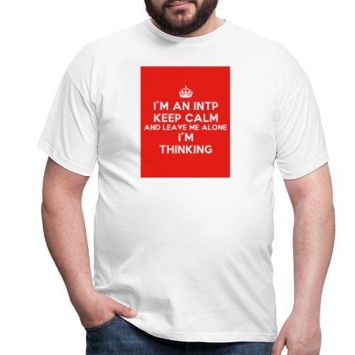 KEEP CALM 2 - Koszulka męska