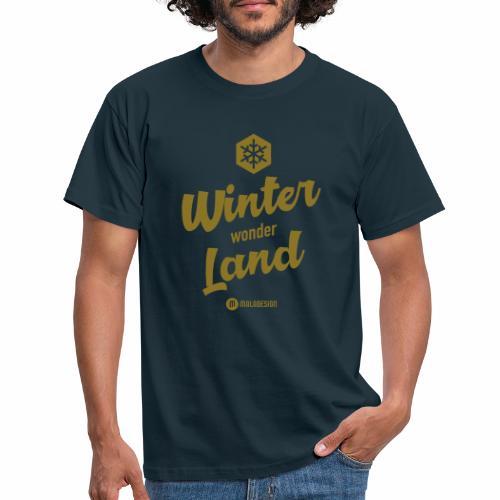 Winter Wonder Land - Miesten t-paita