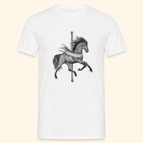 Carousel Horse - Men's T-Shirt