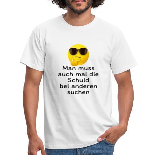 Schuld - Männer T-Shirt