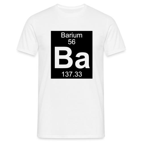 Barium (Ba) (element 56) - Men's T-Shirt