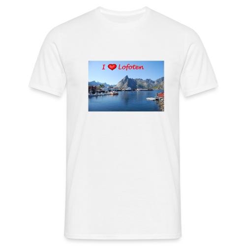 ilovelofoten - T-skjorte for menn
