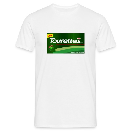 Tourettes Mints t Shirt - Men's T-Shirt