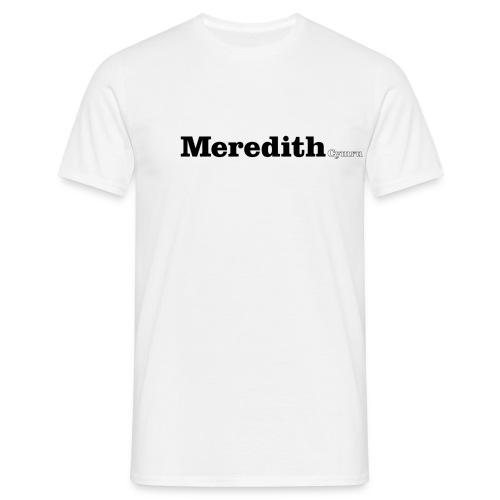 meredith cymru black - Men's T-Shirt