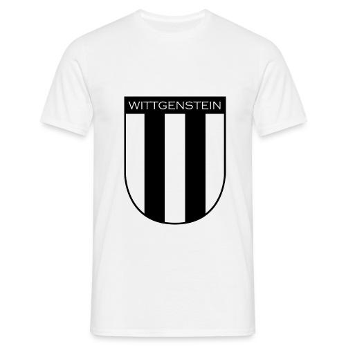 Wappen Wittgenstein - Männer T-Shirt