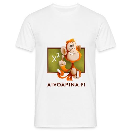 Aivoapina tumma teksti - Miesten t-paita