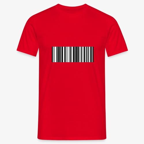 Unique-Barcode - Men's T-Shirt