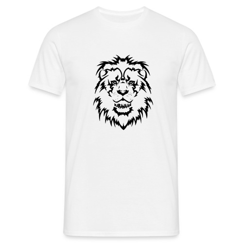 Karavaan Lion Black - Mannen T-shirt