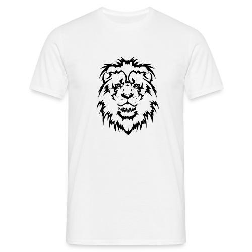 Karavaan Lion Black - Mannen T-shirt