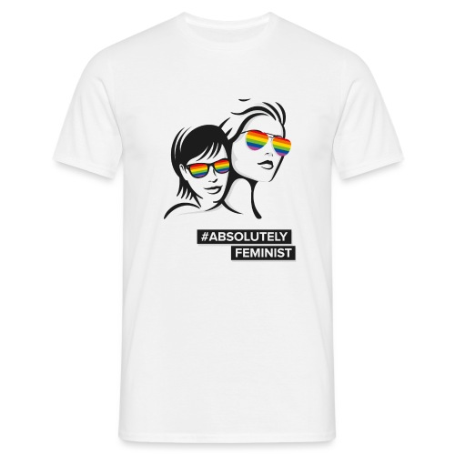 L-BEACH Rainbow Glasses - Männer T-Shirt