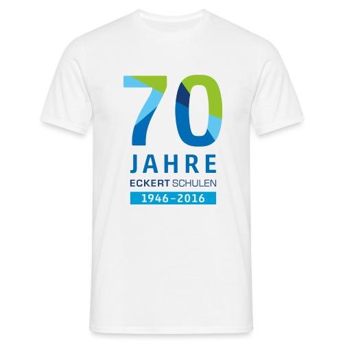 70 Jahre Eckert Schulen - Männer T-Shirt