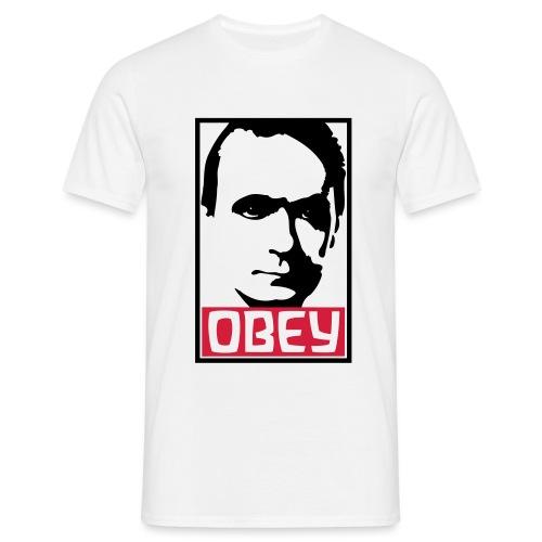 OBEY Rudolf Steiner - Männer T-Shirt