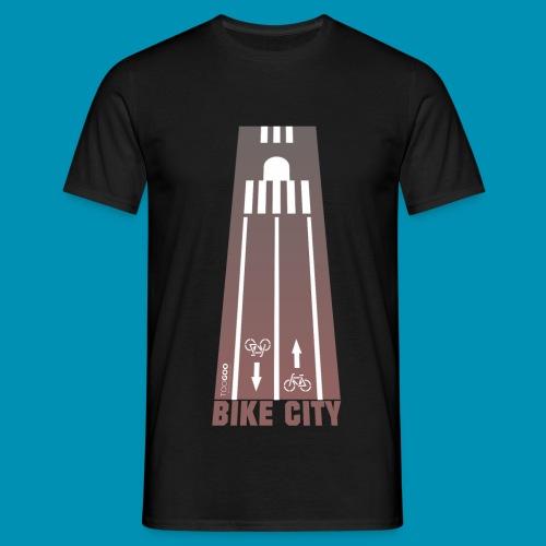 BikeCity png - Maglietta da uomo