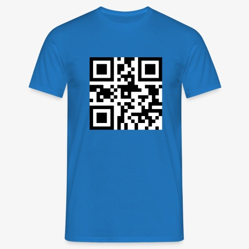 QR Code Unique - Men's T-Shirt