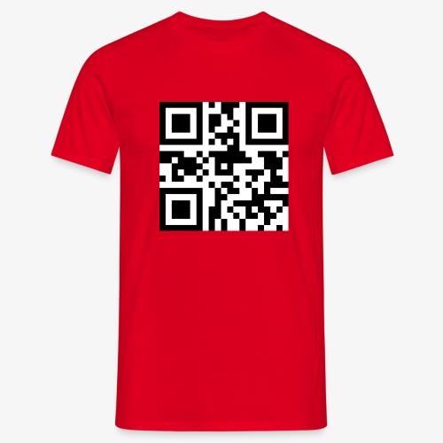 QR Code Unique - Men's T-Shirt