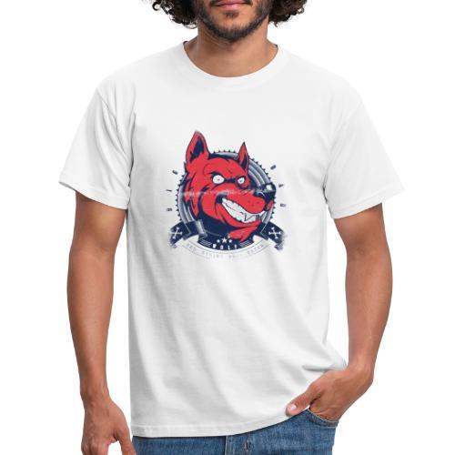 Wolf grin - Männer T-Shirt
