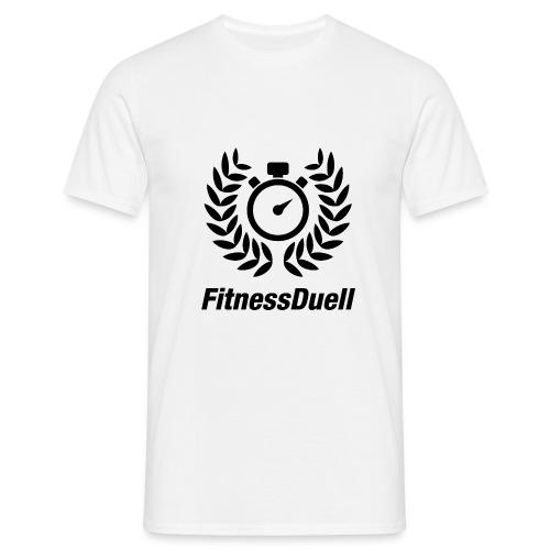 FitnessDuell Logo - Männer T-Shirt