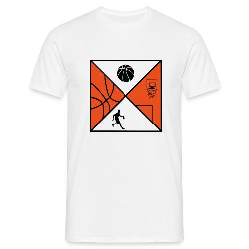 BASKETBALL N°2 - Männer T-Shirt