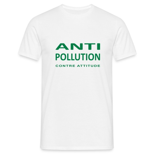 LOGO ANTI-POLLUTION - T-shirt Homme