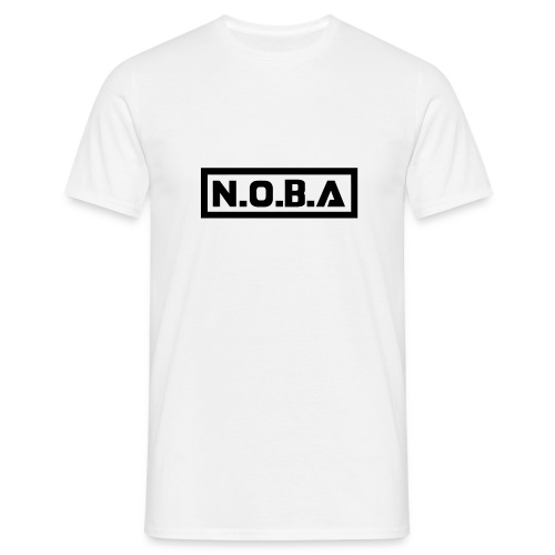 N.O.B.A T-Shirt White Color (Men / Women) - T-shirt Homme