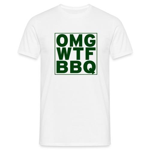 OMGWTFBBQ - Mannen T-shirt