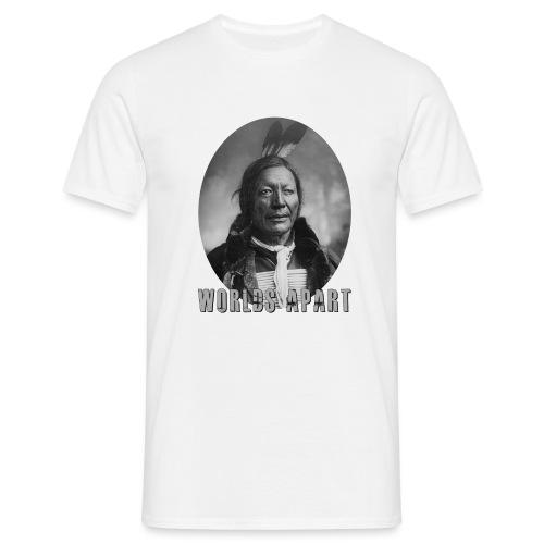 Indianer WORLDS APART - Männer T-Shirt