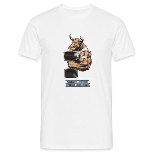 Armed Bull - Maglietta da uomo