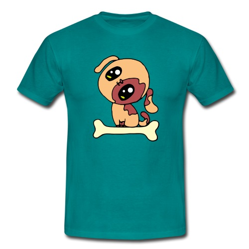 Kawaii le chien mignon - T-shirt Homme