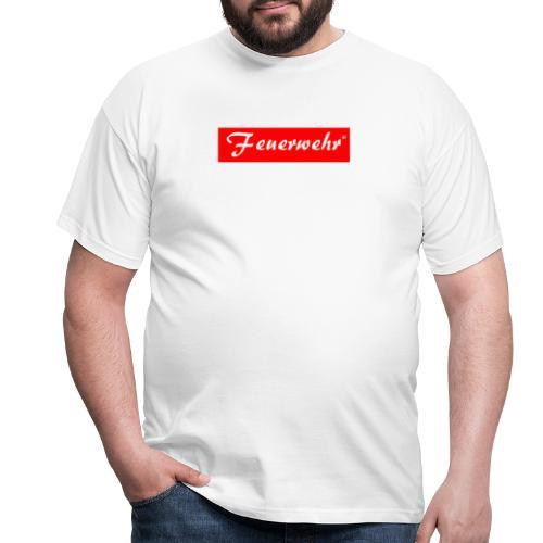 Feuerwerhr Liebhaber Gift - Men's T-Shirt
