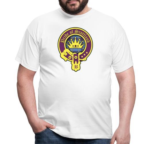 pride of scotland logo - Männer T-Shirt