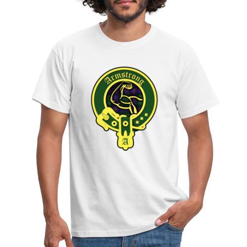 armstrong logo - Männer T-Shirt