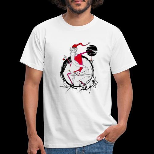 D25 Rey de la Ciudad de Halloween low - Camiseta hombre