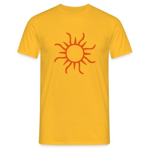 Sonne - Männer T-Shirt