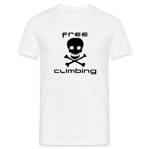 Free climbing tête de mort - T-shirt Homme